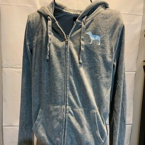 PINK Victoria's Secret velour hoodie